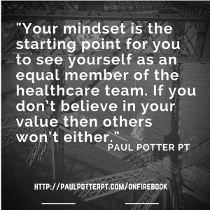 Your mindset is the starting point