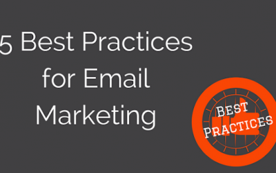5 Best Practices for Getting Started with Email Marketing