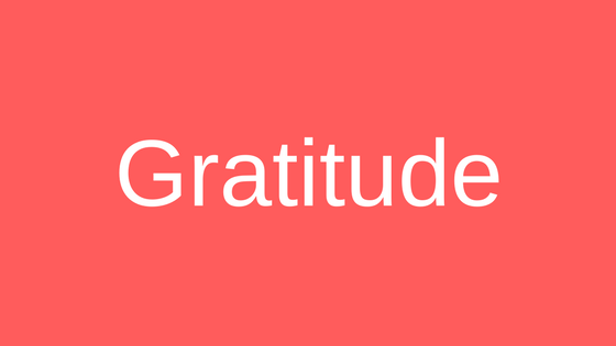 Why is so hard to be grateful?