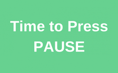 Time to Press Pause
