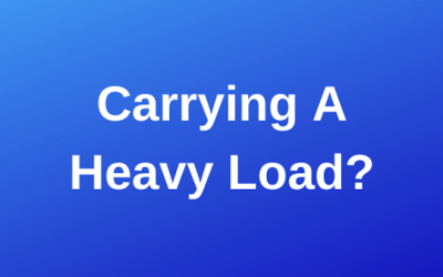 Carrying A Heavy Load?